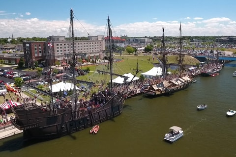 2016 Tall Ship Celebration in Bay City Michigan