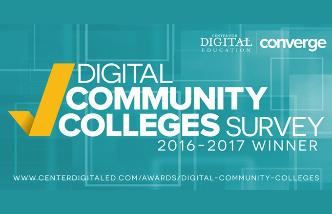 Digital Community College winner badge