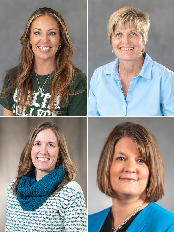 Excellence Winners – Renee Hoppe, Kim Klein, Lisa Lawrason and Andrea Ursuy