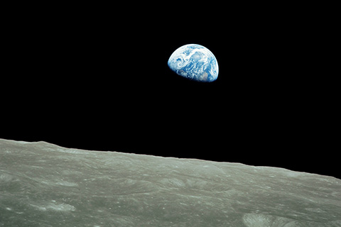 View of Earth from Apollo 8