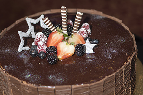 Photo of chocolate torte