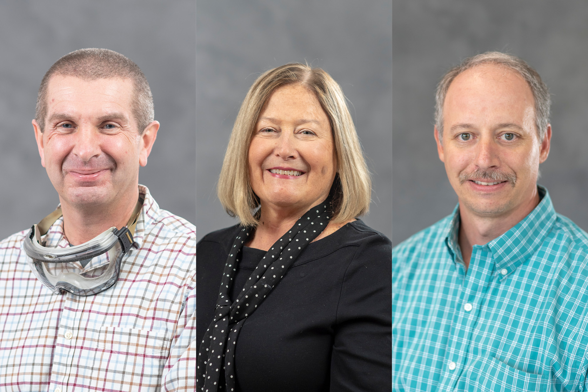 Excellence Winners – David Baker, Ginny Pryzgocki, Terry Morse