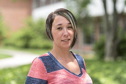 Student Heather Bennett