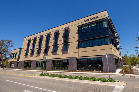 Members of the public are invited to see Delta College's new Downtown Midland Center August 7 at a public open house.