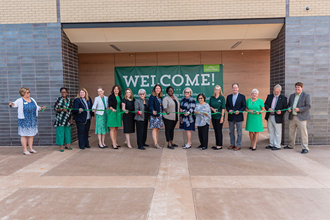 Excitement was felt and seen at two events held in August to celebrate the opening of Delta College's new Downtown Midland Center.