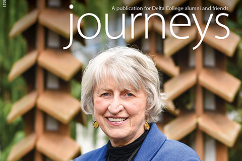 The new issue, published by the Office of Institutional Advancement, is available online at delta.edu/journeys.