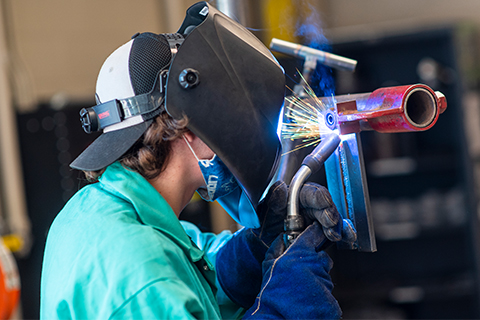 Delta offers 23 skilled trade programs and many include the option of an apprenticeship.