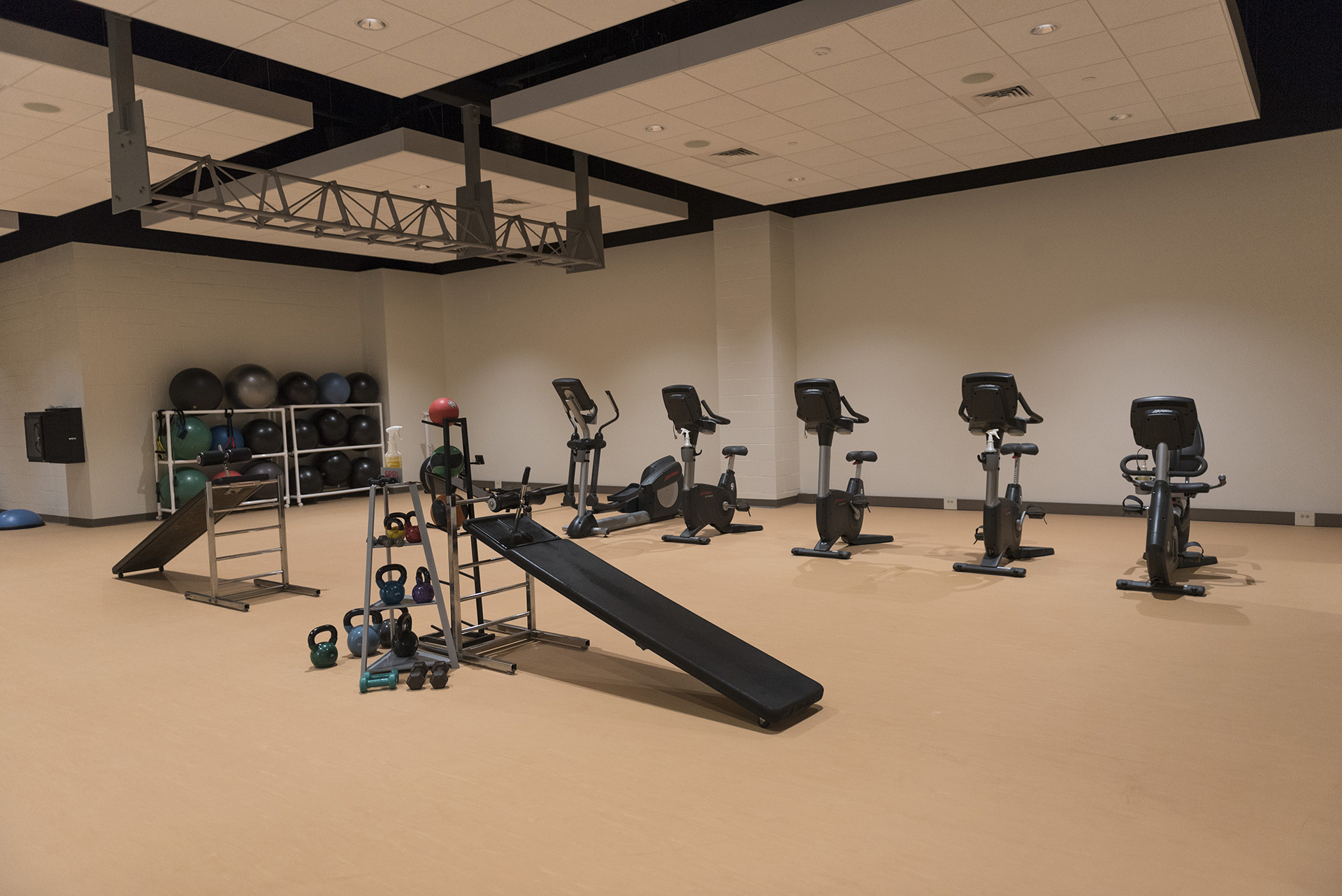 A new spinning room.