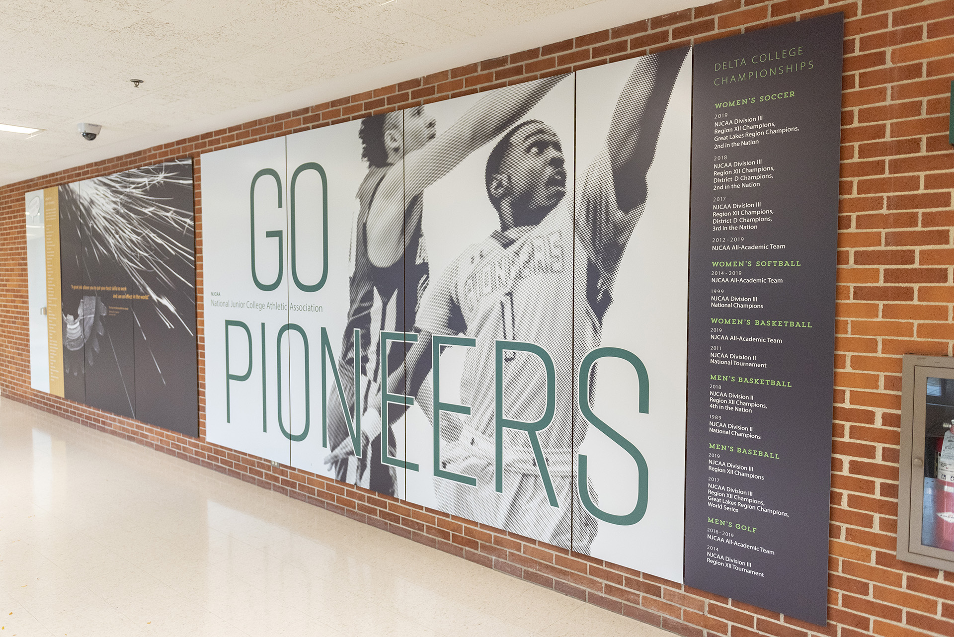 The Pioneer Gymnasium hosts many events, including commencement and sports events.