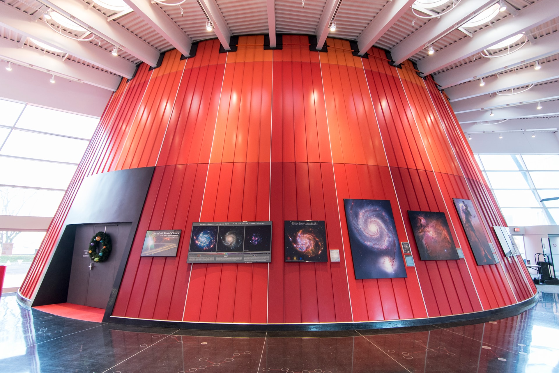 The Downtown Bay City Center includes a state-of-the-art planetarium.