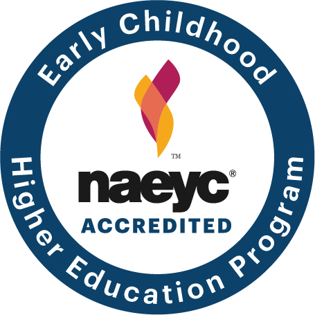 Early Childhood Higher Education Program NAEYC accredidation seal