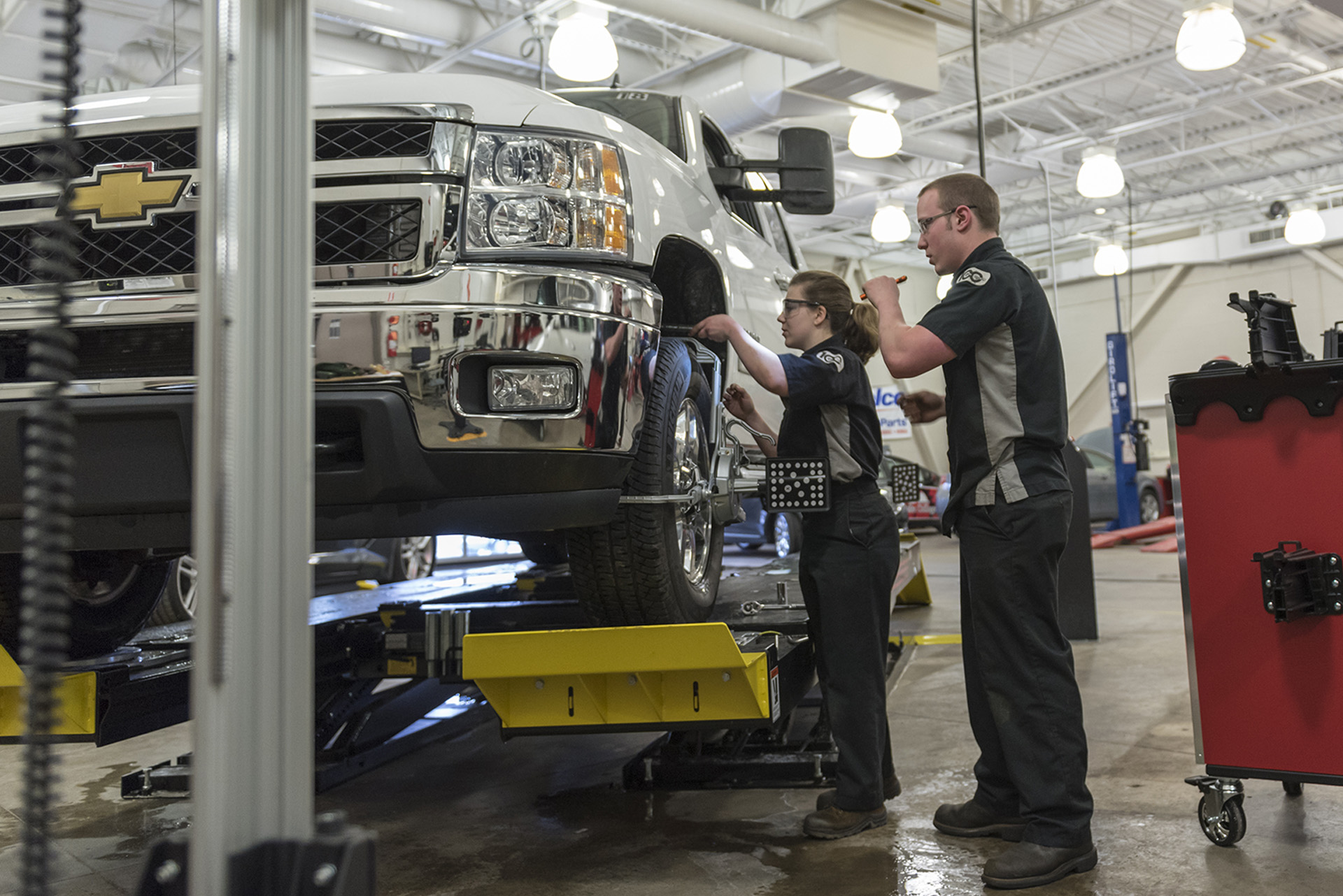 Automotive Service Technology - Maintenance Light Repair ...
