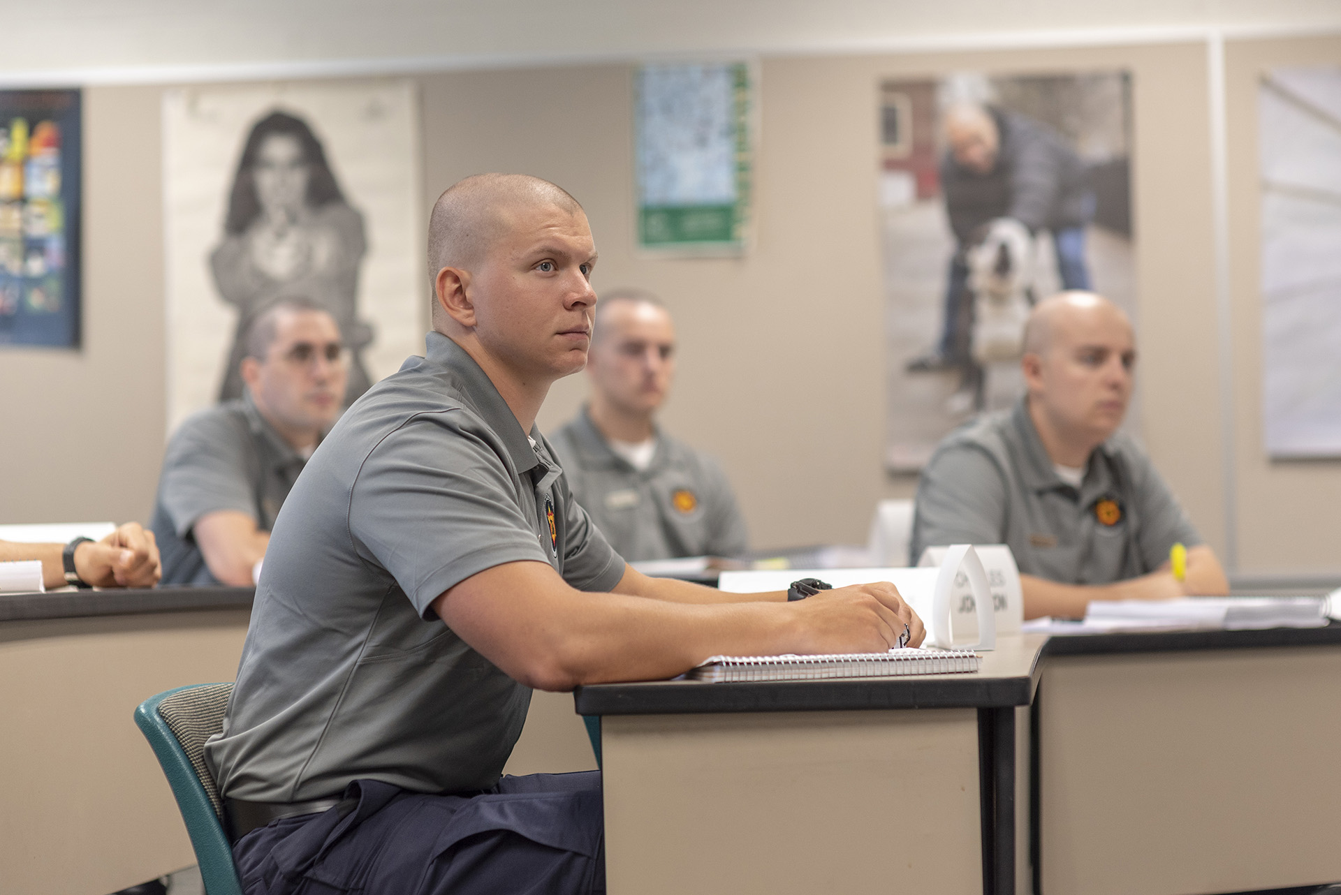 Law Enforcement with Basic Police Training