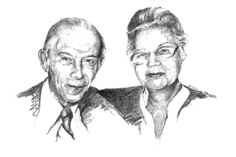 Hilde and Walter Heyman