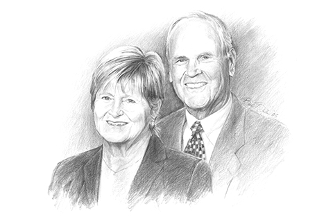 Edward and Kathryn Langenburg