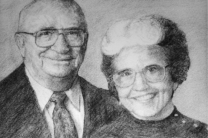 Dorothy G. and Robert E. Monica