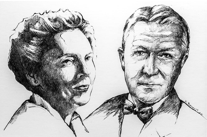 Paul and Margaret Thompson