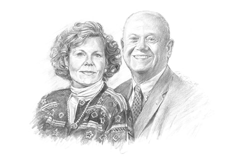 Dr. Thomas H. Lane and Janis E. Landry-Lane