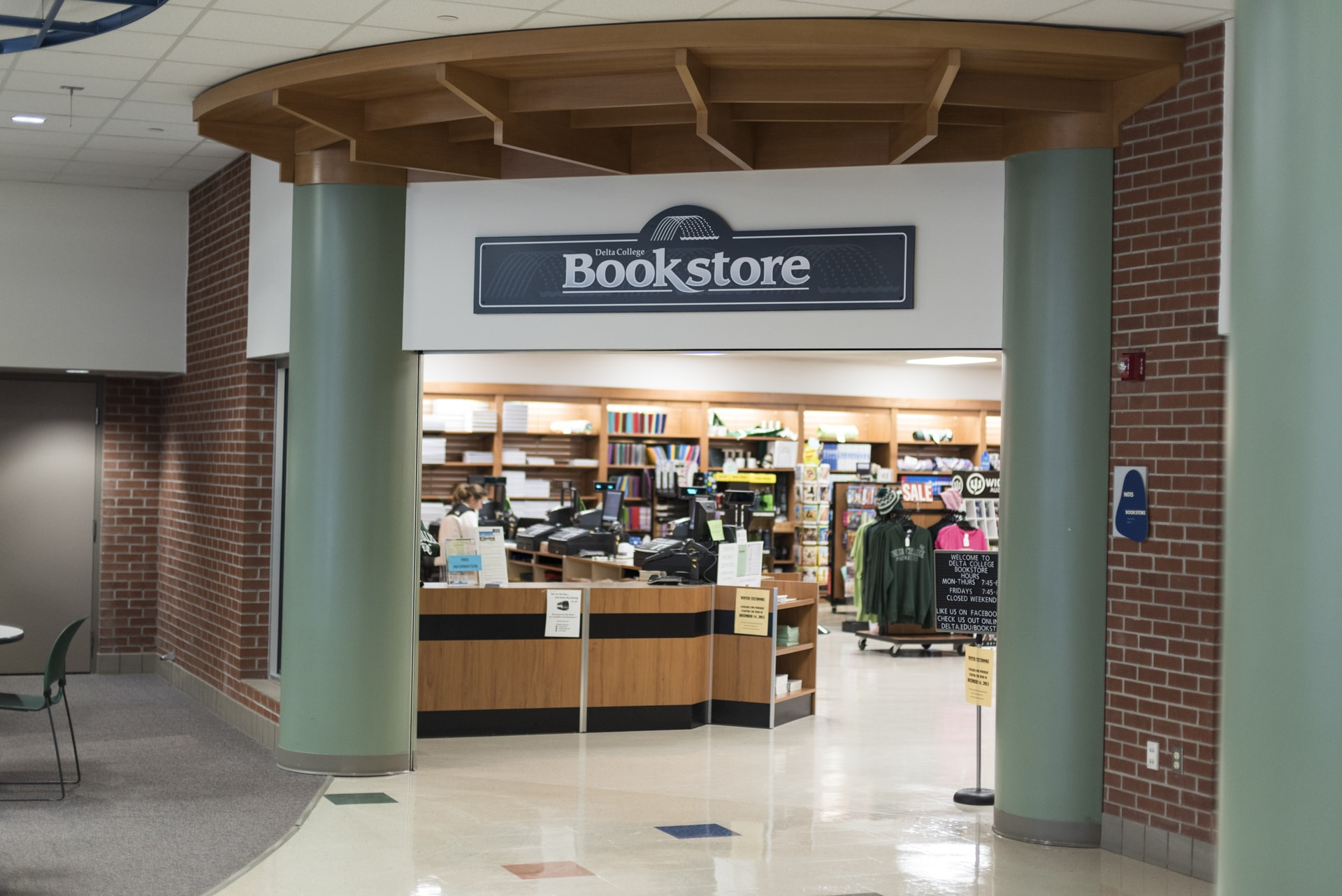 The Bookstore entrance