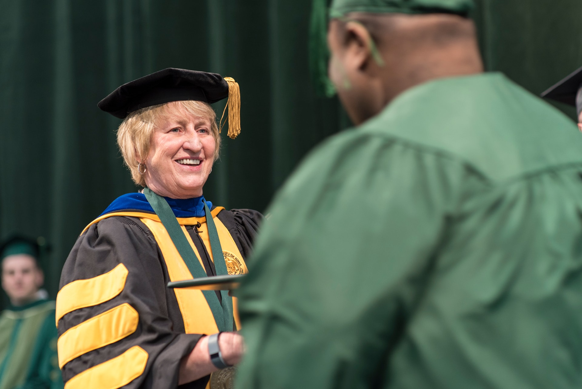 Dr. Jean Goodnow at Commencement