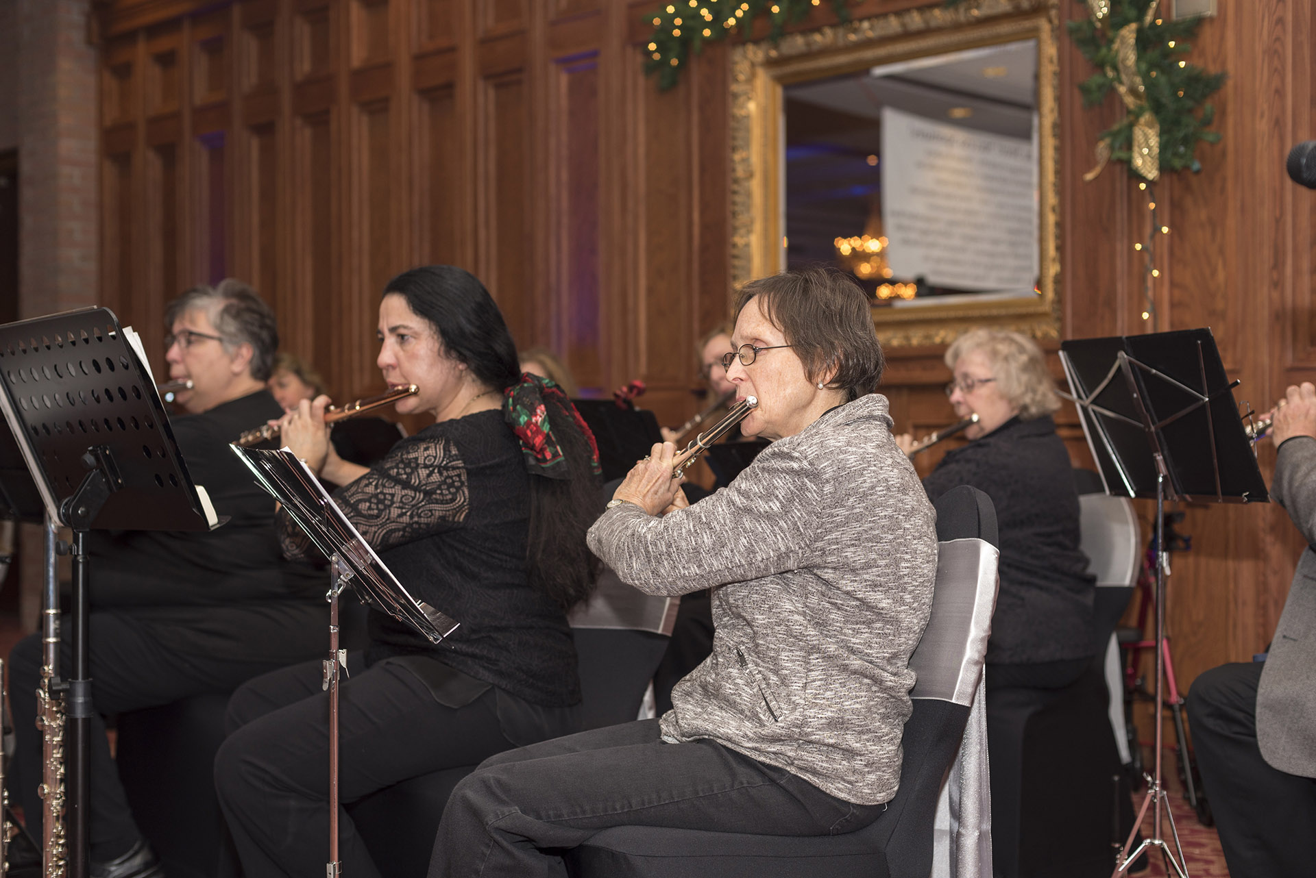 Flute Choir at the Chocolate Affair