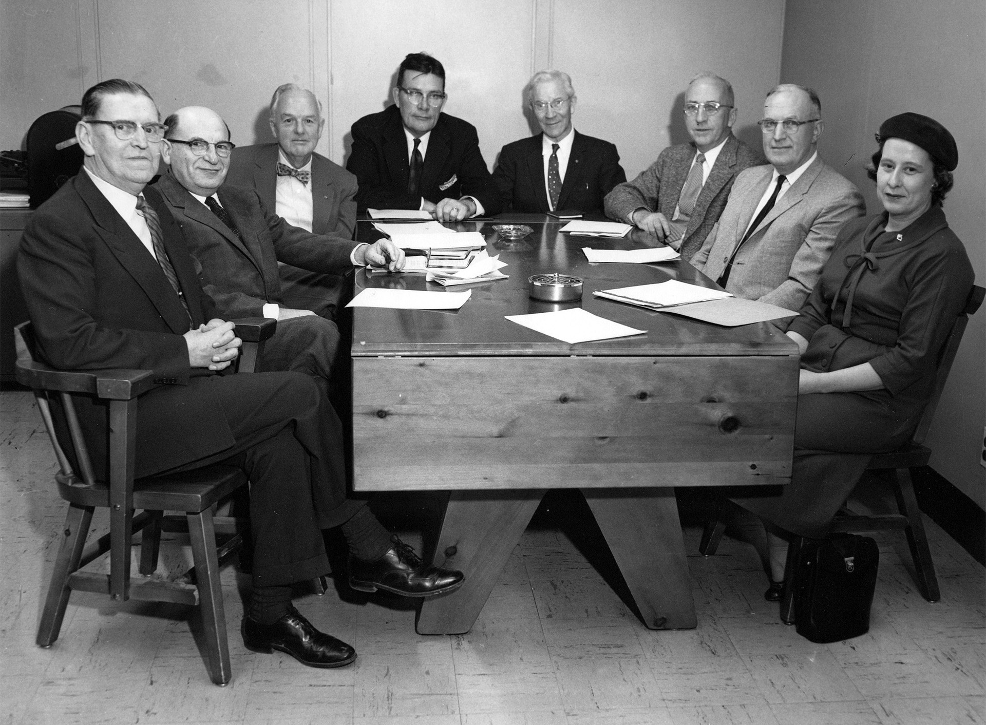 An early Board of Trustees Meeting