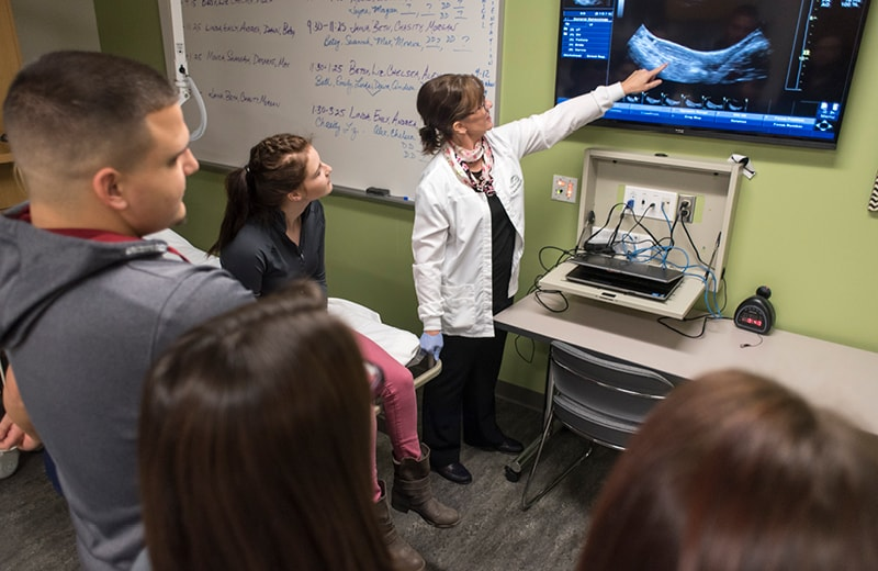 Sonography Dual with General Management - Delta College